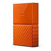 Western Digital My Passport 2TB Micro-USB B 3.0 (3.1 Gen 1) 2000GB Orange