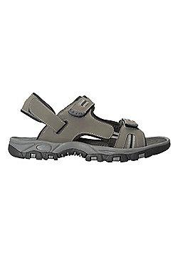Mountain Warehouse Z4 Sandal Walking Hiking Beach Holiday Shoes Mens Outdoor - Black