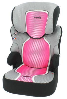 Befix SP Pop Pink Group 2-3 High Back Booster