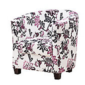 Sofa Collection Vallier Tub Chair- Purple