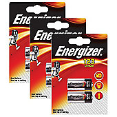 6 x Energizer CR123A CR123 123 3v Lithium Photo Battery