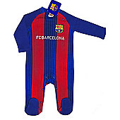 FC Barcelona Baby Kit Sleepsuit - 2016/17 Season - Red