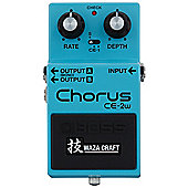 Boss CE-2W Chorus - Waza Craft Special Edition Compact Electric Guitar Effects Pedal