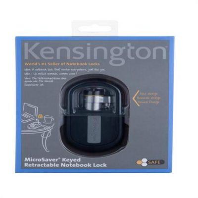 Kensington MicroSaver Retractable Laptop Lock - Keyed Different