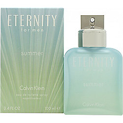 Calvin Klein Eternity for Men Summer 2016 Eau de Toilette (EDT) 100ml Spray  For 11fb574e122