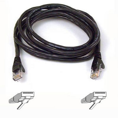 Belkin 2m High Performance Cat6 UTP Patch Cable Black