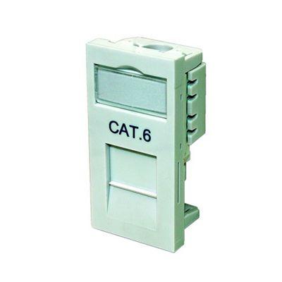Cat6 Data Module Wh