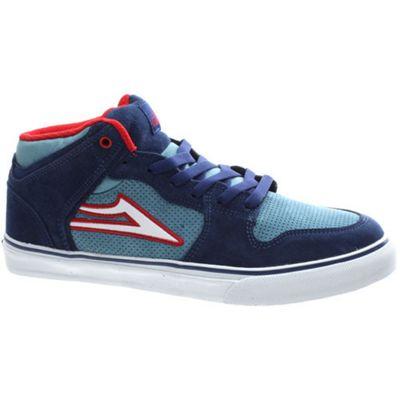 Lakai Carroll Select Blue/Red Suede Shoe