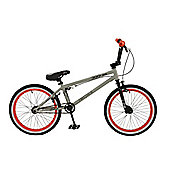 "Zombie Horde 25/9 20"" Wheel Freestyle BMX Bike Grey"