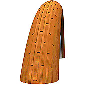 Schwalbe Fat Frank Tyre: 26 x 2.35 Brown-Reflex Wired. HS 375, 60-559, Performance Line, Kevlar Guard