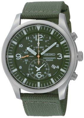 Seiko Gents Chronograph Watch SNDA27P1