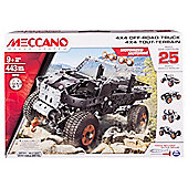 MECCANO 25 Models Set - 4x4 Off-road Truck