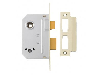 Yale Locks PM236 Bathroom 2 Lever Sashlock Polished Chrome 67mm 2.5in