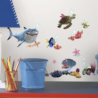 Delightful Disney Finding Nemo Wall Stickers Part 24
