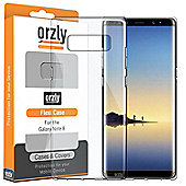 Note 8 Case - Orzly FlexiCase for Samsung Galaxy Note 8