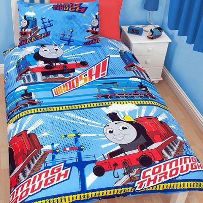 Thomas and Friends 4 Piece Single Bedding Bundle - Wheesh