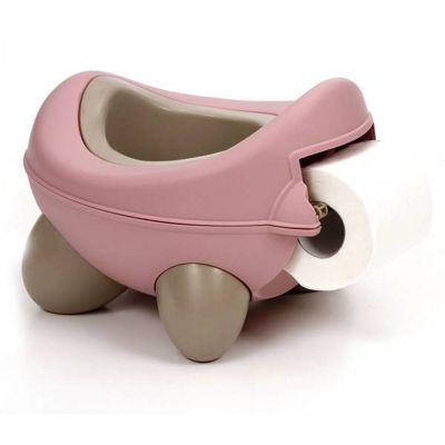 Kids Kit Baby Bug Potty Pink & Beige