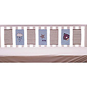 Bizzi Growin Far Away Universe Baby Cot Bumper Wraps