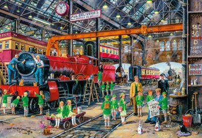 Gibsons The School Outing Jigsaw Puzzle 500-Piece