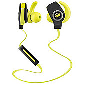Monster iSport Bluetooth Wireless SuperSlim In-Ear Green Headphones