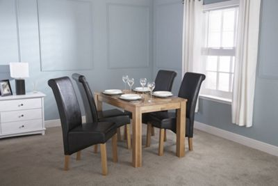 Charter Solid Oak Dining Table