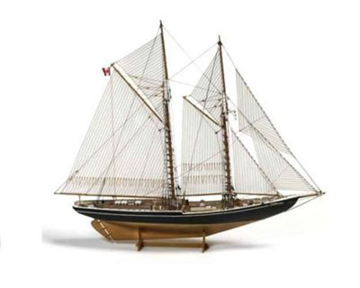 Billing Boats Model Kit Bluenose II Schooner 1:100 scale No.600