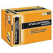 10 x Duracell AA Industrial Alkaline Batteries