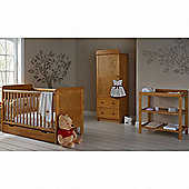 OBaby Winnie the Pooh Single 4pc Room Set (Country Pine)
