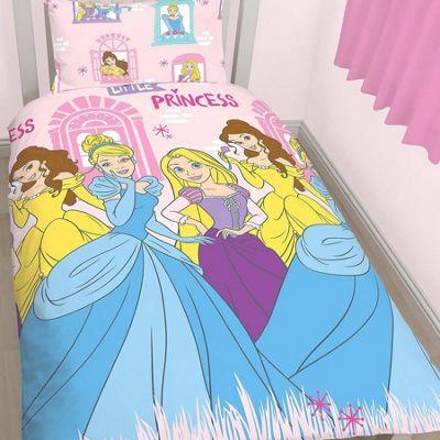 Disney Princess Single Bedding and Curtains 72s - Boulevard
