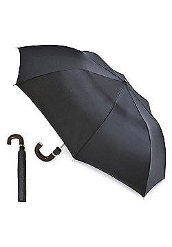 Drizzle Gentleman's Black Automatic Umbrella