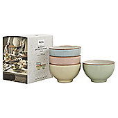 Denby Entertaining heritage mixed small bowls 4 pack