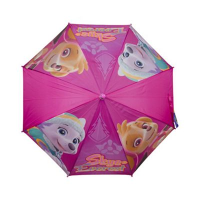 Paw Patrol Girls 'Purple' Full Panel Automatic Nylon Umbrella