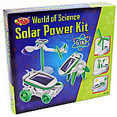 World Of Science 6 In 1 Solar Power Kit