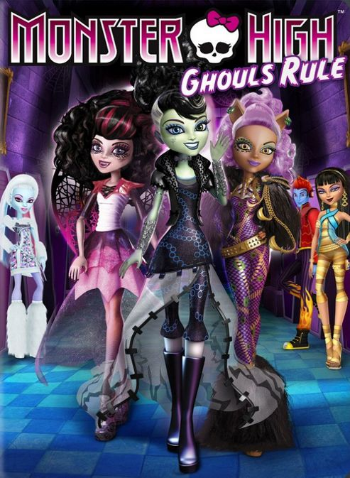 Monster High - Ghouls Rule (DVD)