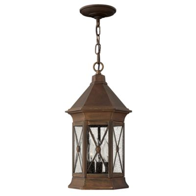 Sienna Chain Lantern - 3 x 60W E14