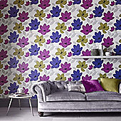 Superfresco Superflora Floral Pink Wallpaper