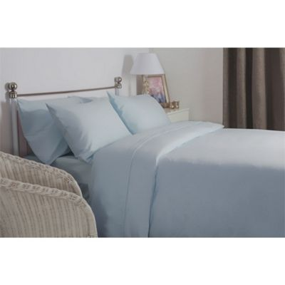 Belledorm Brushed Cotton Blue Duvet Cover - Single