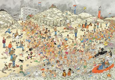JVH New Years Day Dip - 2000pc Puzzle
