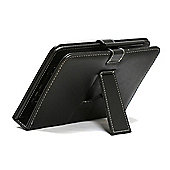 Navitech Black Keyboard Stand case for the Hipstreet Pilot 10 inch Android Tablet with stylus pen