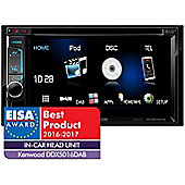 """Kenwood 6.2"""" In Car Stereo-DVD Receiver│DAB│MP3│FLAC│USB│Bluetooth-2 Phone Connection│Siri│iPod-iPhone-Android│DDX 5016DAB"""