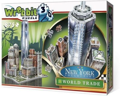 New York City - World Trade District - 3D Puzzle