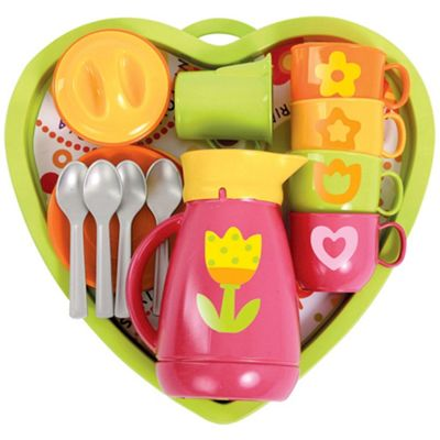 Gowi Toys Heart Coffee Service (Pink)