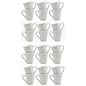 White Latte Coffee Tea Mugs - 285ml (10oz) - Box of 24