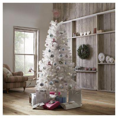 Jasper White 6ft Christmas Tree, Tesco