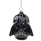 Official Darth Vader Star Wars Glass Christmas Tree Bauble