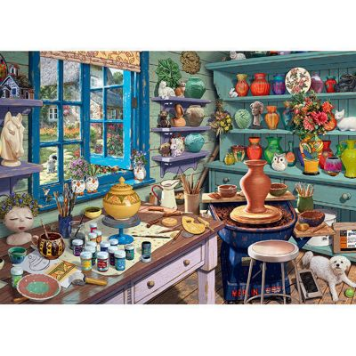 My Haven 3 - The Pottery Shed - 1000pc Puzzle