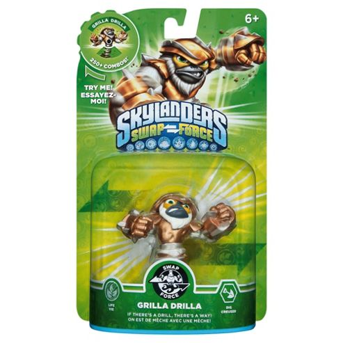 Skylanders Swap Force Character : Grilla Drilla