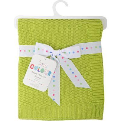 Love Colour Cotton Blanket (Lime)