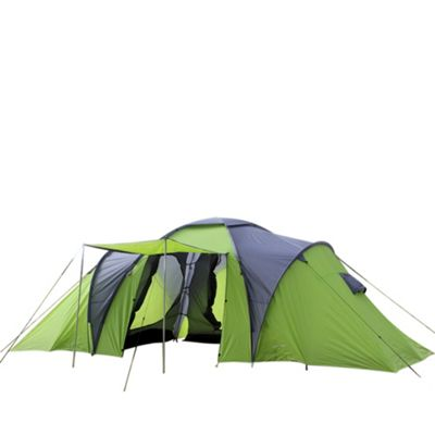 North Gear C&ing Deluxe Waterproof 8 Man Tent  sc 1 st  Tesco & Buy North Gear Camping Deluxe Waterproof 8 Man Tent from our ...