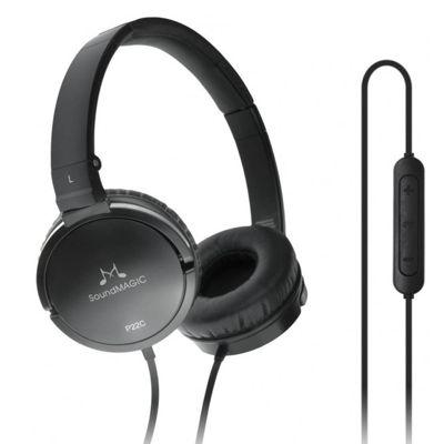 SoundMAGIC P22C Portable Headphones with Universal Smartphone Controls & Mic